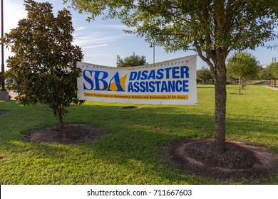 Missouri City, TX - September 9, 2017: Hurricane Harvey disaster recovery centers staffed with recovery specialists from FEMA, US Small Business Administration, State and other agencies open in Texas