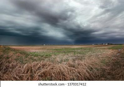 Missouri Farmland Crop Storm