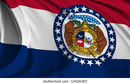 Missouri flag - USA state flags collection no_3