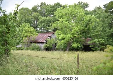Missouri vintage barns