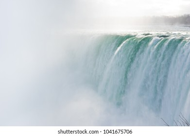 Mist and the falls
