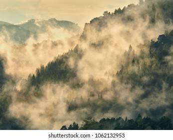 Mist of the mountains