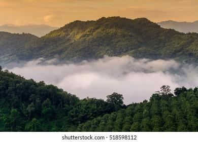 mist in thailand