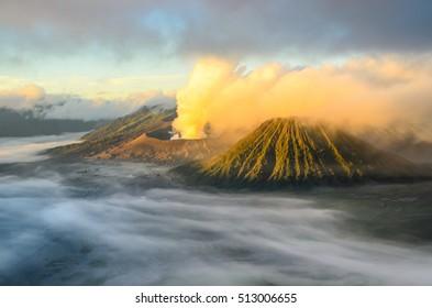 Mist of valcano