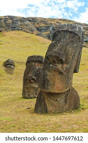 The misterious Moais from Easter Island