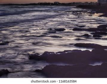 Mistery sea landscape
