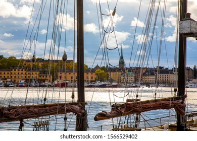 A mistic view of Stockholm, Sweden