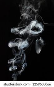 mistic white smoke
