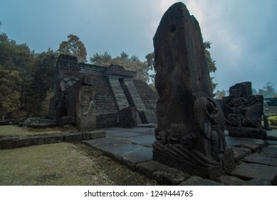 mistical sukuh temple on central java