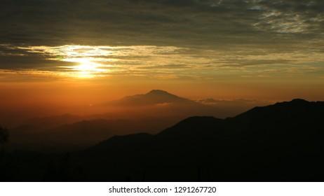 a mistical sunrise