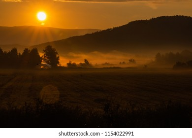 Misty mornings in Carinthia
