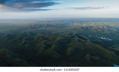 MistyMayan Mountains in Central America