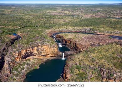 Mitchel Falls in outback western Australia.