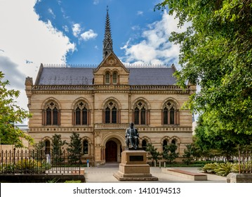The Mitchell Building, University of Adelaide, Southern Australia on a sunny day