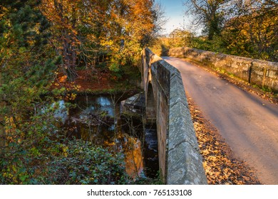 Mitford Bridge over River Wansbeck, the river rising in the Northumberland hills above Sweethope Lough, then journeys towards the North Sea near Newbiggin