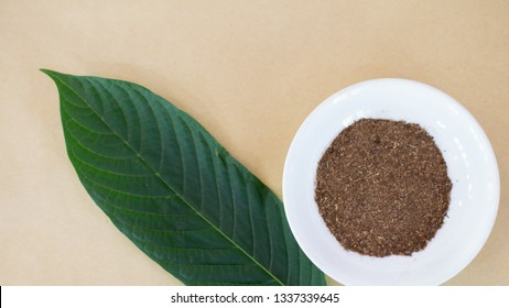 Mitragyna or Kratom leaves extract