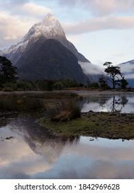 Mitre Peak Milford Sound Piopiotahi, New Zealand