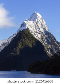 Mitre Peak Milford Sound, South Island, New Zealand