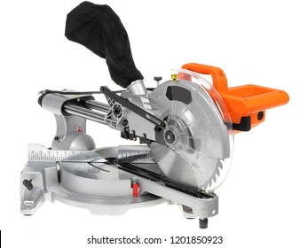 Mitre saw isolated on white