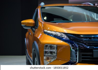 Mitsubishi Xpander Cross car on display at THE 41st BANGKOK INTERNATIONAL MOTOR SHOW 2020 on July 14, 2020 in Nonthaburi, Thailand.