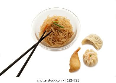 mix of china food