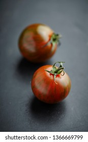 Mix of different types of tomatoes