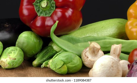 Mix of healthy Organic Vegetable Composition
