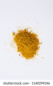 Mix Ingredient, Sesoinng Powder & Vegetables on white background.