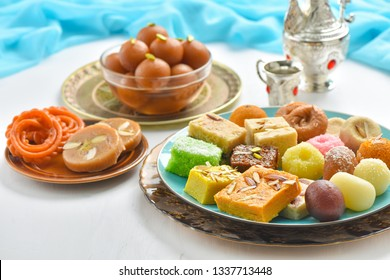 Mix Mithai, Gulab Jamun and Sohan Halwa