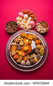 Mix Mithai or indian milk made food for, Diwali, holi, Dussehra, indian or pakistani wedding sweet food