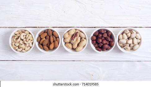 Mix of nuts : Pistachios, almonds, walnuts, peanuts, hazelnuts , cashew