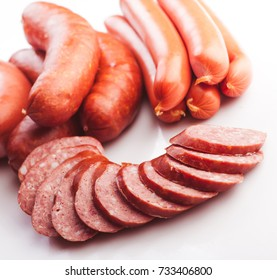Mix of sausages
