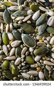 Mix seeds background
