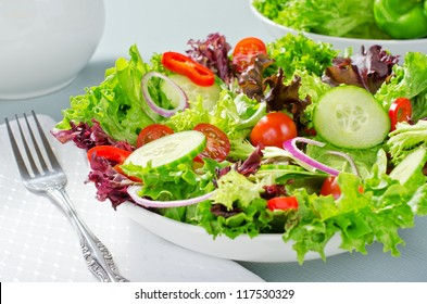 Mixed chef's salad.