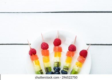 Mixed fruits and berries