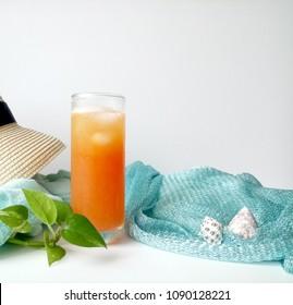 mixed juice drink