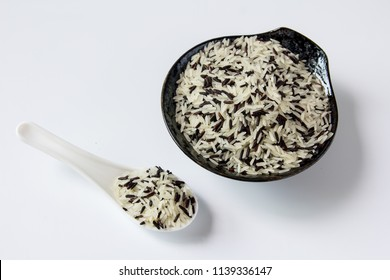 Mixed rice on plate