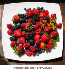 Mixed selection of fresh berries
