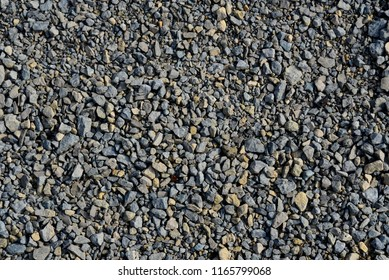 Mixed small aggregate mostly gray or grey color.
