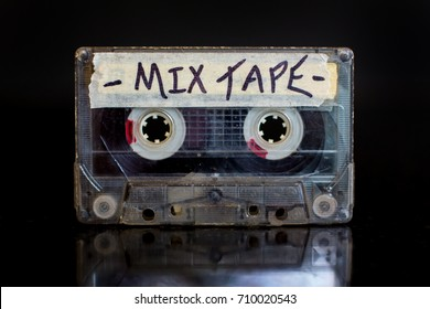 Mixed Tape. Mixed cassette tape.