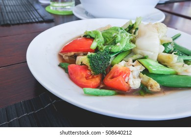 Mixed vegetable Stire-fried