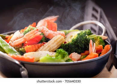 Mixed vegetable stire-fried.