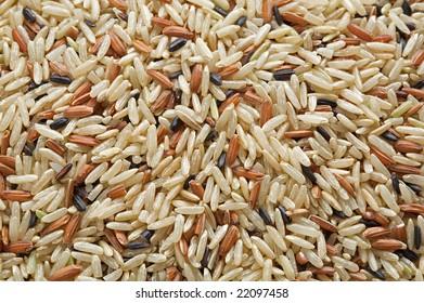 Mixed wild rice