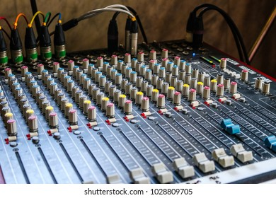 Mixer and Sound Equipment