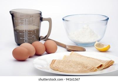 mixing Pancakes