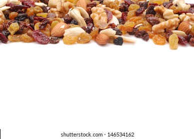 mixture of nuts,dry fruits