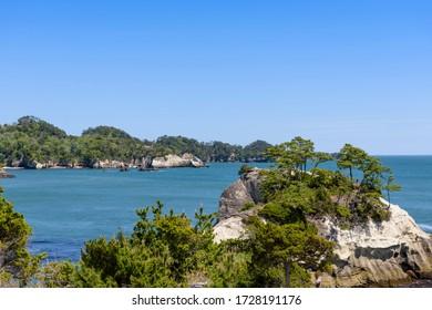 Miyagi, a small beach in Oku Matsushima