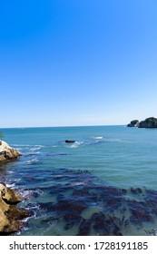 Miyagi, una pequeña playa en Oku Matsushima