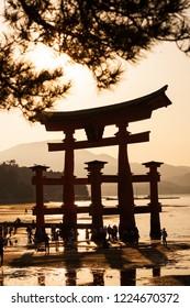 Miyajima torii japan