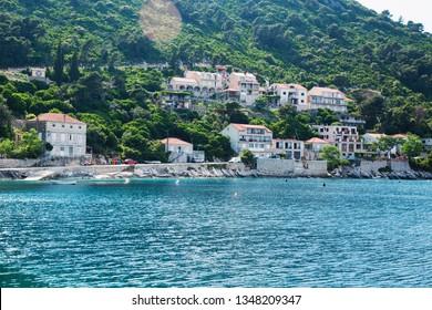 Mljet,Croatia - 14 May 2018 - Place Sobra in Mljet island